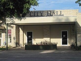Eden, Texas - Image: Eden, TX, City Hall IMG 4381