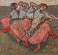 14 / Drei russische Tänzerinnen