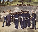 The execution of Emperor Maximilian (1867) - painting by Édouard Manet.