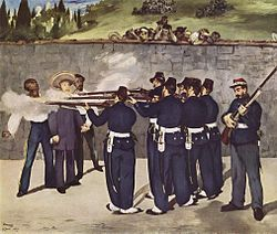 Édouard Manet: The Execution of Emperor Maximilian