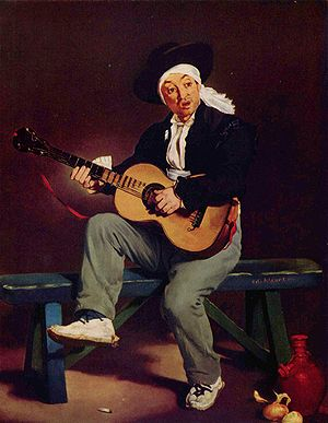 1860 in art - Manet – The Spanish Singer