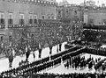 Edward VII visiting Malta, April 1903 - The King entering the Grandmaster's Palace.jpg