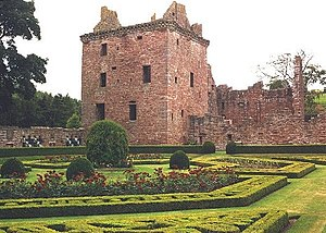 Order of Free Gardeners - Edzell Castle's walled garden, Scotland, dates back to 1604.