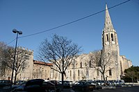 Eglise 14 èmes siècles à Montfavet.JPG