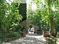 Eingang zum Wasserburg Gasthof & Brauerei, Rathenau-Str - geo.hlipp.de - 19996.jpg