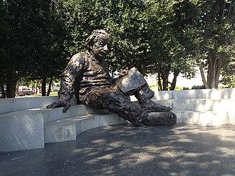 Albert Einstein Memorial - Albert Einstein Memorial outside of the National Academy of Sciences Building in Washington, D.C.