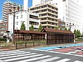 Ekimae-Odori Tram Stop (2017-09-18) 3.jpg