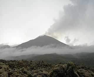 Reventador mountain