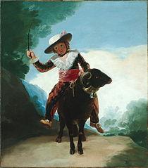 Enfant montant un mouton