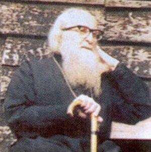 Sophrony (Sakharov) - Image: Eldersophrony