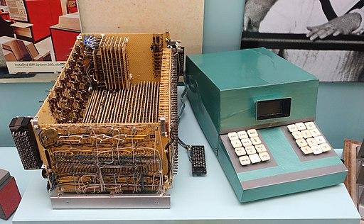 First Electronic Calculator Prototype