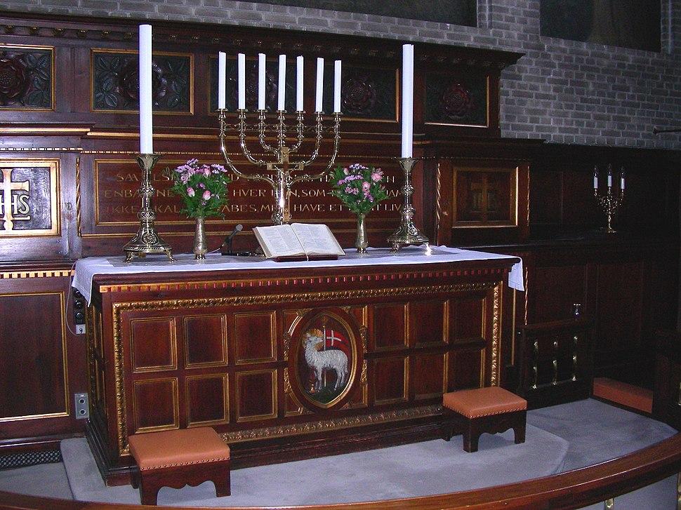 Elias Kirken Copenhagen altar