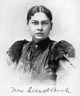 Ella A. Boole American activist
