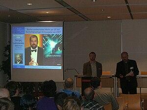 Kurd-Laßwitz-Preis - Awarding of the Kurd-Laßwitz-Preises at Elstercon 2008
