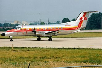 Atlantic Southeast Airlines Flight 529 - An Atlantic Southeast Airlines Embraer 120ER Brasilia, similar to the aircraft involved in the accident