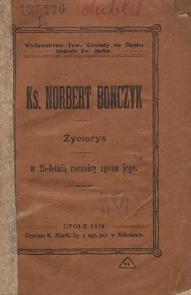 File:Emil Szramek - Ks. Norbert Bonczyk.djvu