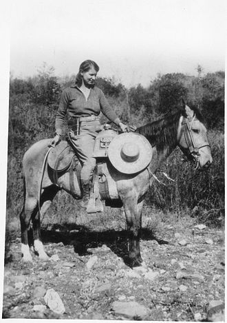 Science journalism - Emma Reh (1896–1982) was a science journalist for Science Service in the 1920s and 30s. Here she is reporting on an archaeological site in Oaxaca for Science News.