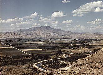Emmett, Idaho - Landscape near Emmett in the 1930s