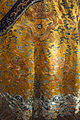 Emperor's 12-sign semiformal dragon robe, view 2, China, 18th century, silk, gold thread, embroidery - Royal Ontario Museum - DSC04466.JPG