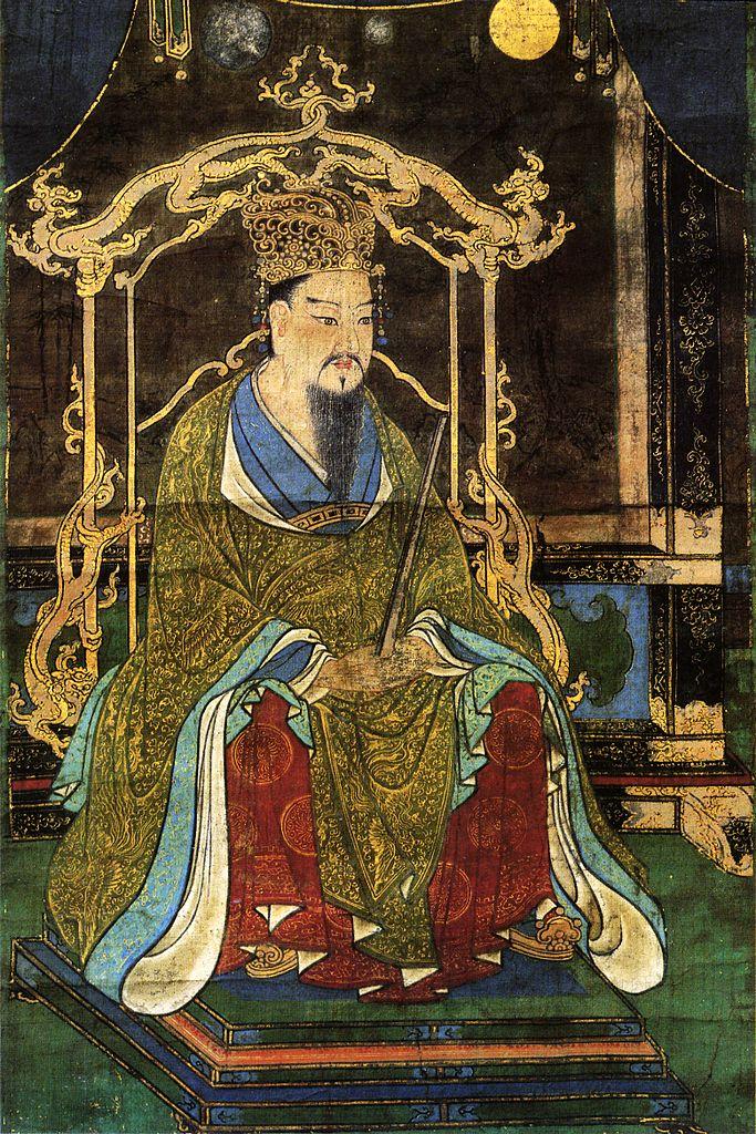 桓武天皇像
