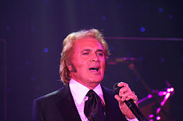 Humperdinck in Las Vegas in 2009
