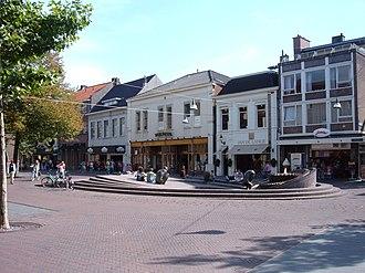 Enschede - Het ei van Ko (Ko's egg) fountain