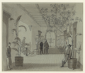 Entrance Hall of Mr Chas. Green's house, Savannah Ga, now occupied as Head Quarters by Gen Sherman.png