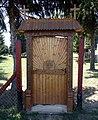 Entrance to the graveyard of Baranyajenő.jpg