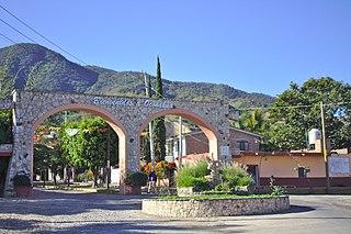 Oconahua human settlement in Mexico