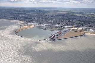 Great Yarmouth Outer Harbour English port