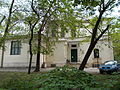 Epreskert. Now, Hungarian Fine Art University. Sculptors and painters rooms. Building no.1 from Bajza street. Listed Monument ID ID 7956 - Budapest District VI., Szondi street -Bajza street-Kmetty György street.JPG