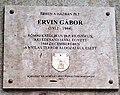 Ervin Gábor emléktáblája Maros utca 44B.jpg