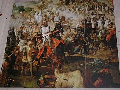 ... Reconquista por las Órdenes Militares. Monasterio de Uclés, Cuenca