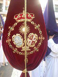 Escudo de la Hdad. de Bellavista.JPG