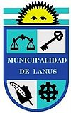 Coat of arms of Lanús