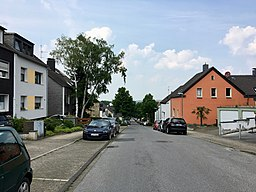 Bergheimer Steig in Essen