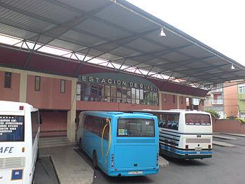 Estacion de guaguas vega san mateo gran canaria