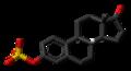 Estrone sulfate anion 3D skeletal.png