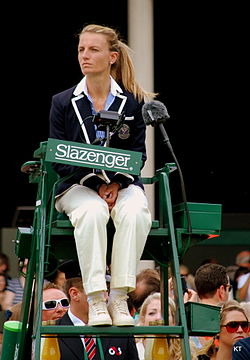 Image result for tennis umpire