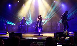 Evanescence at The Wiltern theatre in Los Angeles, California 01.jpg