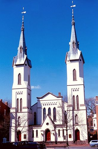 Frederick, Maryland - Evangelical Lutheran Church (Frederick, Maryland) (1752)