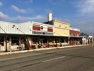 Evant, Texas - Downtown Evant, Texas