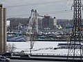 Excursion vessels moored in Toronto's frozen Keating Channel, 2015 02 16 (6).JPG - panoramio.jpg