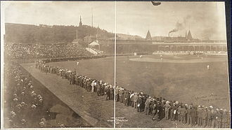 Exposition Park (Pittsburgh) - Baseball game, 1904