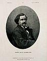 Félix Tournachon (Nadar). Lithograph by É. Vernier after Tou Wellcome V0005869.jpg