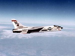 VFA-154 - VF-154 F-8D Crusader in the early 1960s