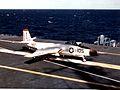 F2H-3 of VF-41 on USS Bennington (CVA-20) 1956.jpg