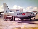 FEDEX Feeder Cessna 208B Grand Caravan N927FE (208B0027) (4712891625).jpg