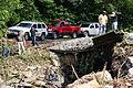 FEMA - 35613 - Damaged bridge and PDA team in West Virginia.jpg