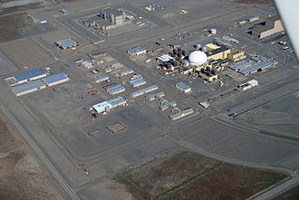 William F. Brown - The Fast Flux Test Facility at Hanford Site, a 400 MW nuclear test reactor owned by the US Department of Energy.